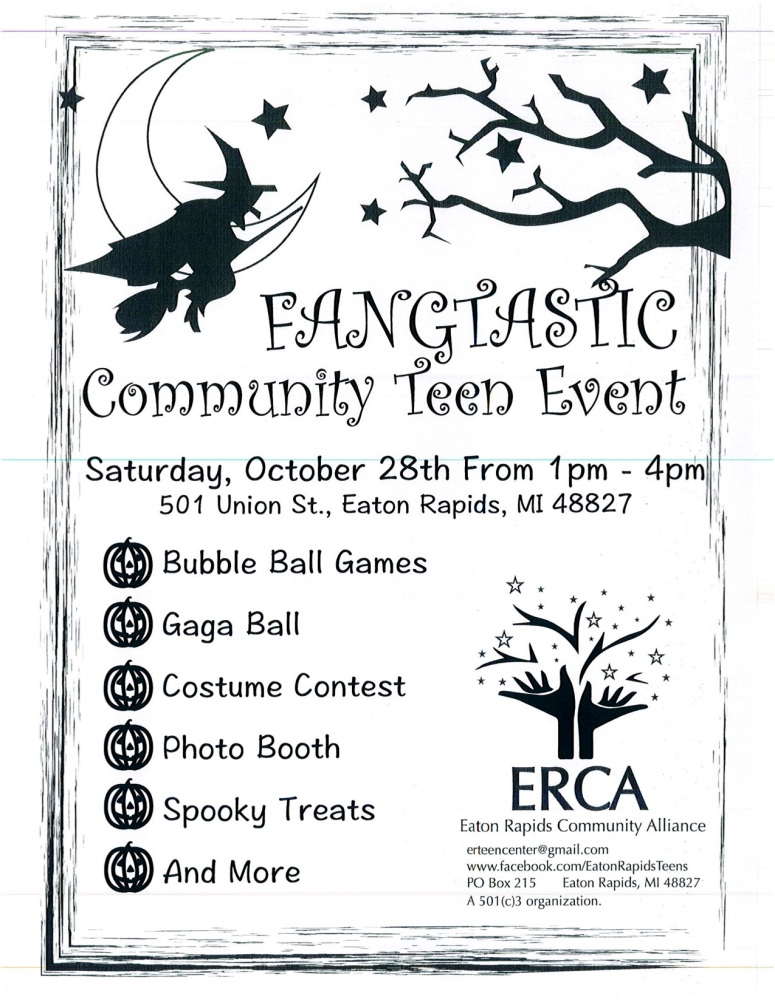 Teen center community event